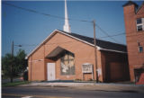 Peace Baptist Church: front  of the 1990 church building