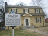Fisk University: James W. Johnson house and marker