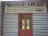 Readyville Mill: sign