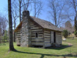 Sam Houston Schoolhouse: front and side