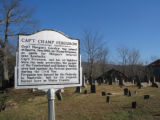 France Cemetery: Champ Ferguson historic marker