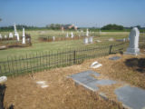 Jones Chapel Church of Christ and Cemetery: family plots 3