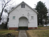 Christ Temple AME Zion Church: front view
