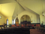 First (Colored) Baptist Church: interior