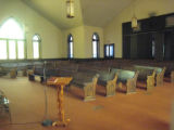 First (Colored) Baptist Church: pews