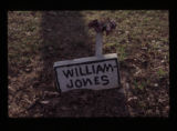 Jamestown Cemetery: grave of William Jones