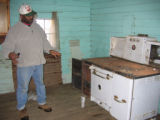 Matt Gardner House: Gary Gardner in kitchen