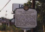 Lake Providence MB Church: historical marker