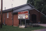 Temple Church of God in Christ: front and sign