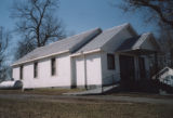 Mt. Zion AME Dickson County: front and side elevations