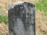 Indian Creek Missionary Baptist Church: grave marker of Fred Nation