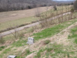 Indian Creek Missionary Baptist Church: cemetery with scattered graves