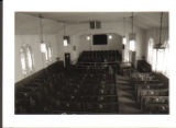 First Baptist Church, Lauderdale: view of sanctuary from balcony