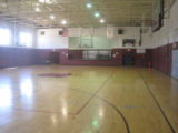Bruce High School: gym