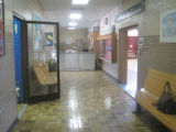 Bruce High School: hallway