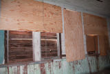 Kansas Rosenwald School: boarded over windows