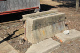 Mt. Zion School: water trough