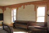 Mt. Zion School: interior facing east