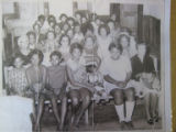 Tanner High School: sitting students in 1960