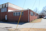 Trenton Rosenwald School: gym entrance