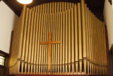 First Presbyterian Church of Spring Hill: detail of pipe organ