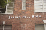 Spring Hill High School: exterior detail