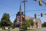 Spring Hill United Methodist Church: northwest elevation