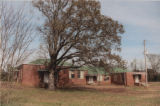 Eads Rosenwald School: left-angled view from the road
