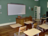 Green McAdoo School: front of classroom