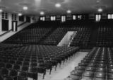 Pearl High School: auditorium viewed from stage