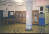 Pearl High School: pillar and trophy case