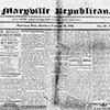 Maryville Republican newspaper