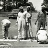 Volunteer Army Ammunition Plant Workers Painting Road Lines