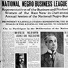 National Negro Business League in Session
