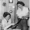Marian Heard and Virginia King