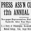 Press Ass'n closes 12th annual session