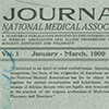 Cover, first issue of the Journal of the National Medical Association