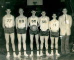 Eagleville high school basketball team, 1956