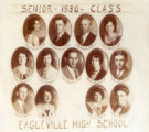 Eagleville high school senior class, 1930