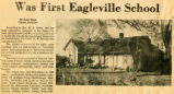 """Was Eagleville First School"""
