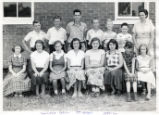 College Grove School seventh grade class, 1951-52