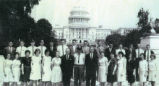 Eagleville High School Students, 1964, Washington, DC