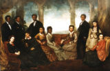 Jubilee Singers at the Court of Queen Victoria, 1873