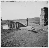Knoxville, Tenn., vicinity. Bridge at Strawberry Plains, 20 miles northeast of Knoxville; camera...