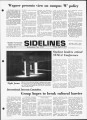 Sidelines 1972 April 21 1