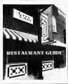 Sidelines 1995 September Restaurant Guide