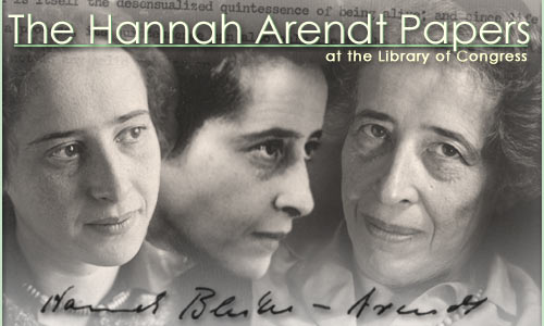 Hannah Arendt Papers at the Library of Congress