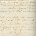 Mary (Mrs. Anson) Jones Letters