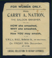 Carry Nation Papers